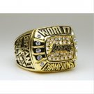 2000 Los Angeles Lakers National Bakstball Championship Ring 10 Size Kobe Name
