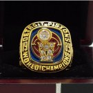 1989 DETROIT PISTON National Basketball Championship Ring 7-15 Size Copper Engraved Inside
