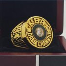 1981 Boston Celtics National Basketball Championship Ring 7-15 Size Copper Solid Engraved Inside