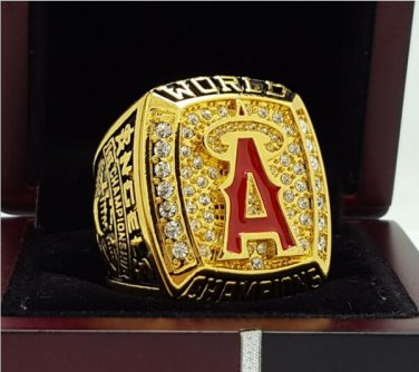 2002 Anaheim Angels MLB World Seires Championship Ring 11S Alloy solid in stock