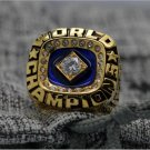 1978 New York Yankees MLB World Seires Championship Ring 7-15 Size Copper Solid Engraved Inside