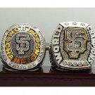 One Set 2 PCS 2010 2014 San Francisco Giants MLB World Seires Championship Ring 7-15 Size