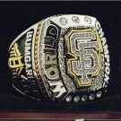 2014 San Francisco Giants MLB World Seires Championship Ring 7-15 Size Copper Solid Engraved Inside