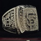 2012 San Francisco Giants MLB World Seires Championship Ring 7-15 Size Copper Solid Engraved Inside