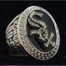 2005 Chicago White Sox MLB World Seires Championship Ring 7-15 Size Copper Solid Engraved Inside