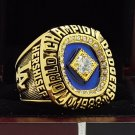 1988 Los Angeles Dodgers MLB World Seires Championship Ring 7-15 Size Copper Solid Engraved Inside
