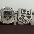 One Set 2 PCS 2012 2014 Los Angeles LA Kings NHL Hockey Stanely Cup championship ring 11S