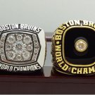 One Set 2 PCS 1970 1972 Boston Bruins NHL Hockey Stanely Cup Championship Ring 7-15 Size
