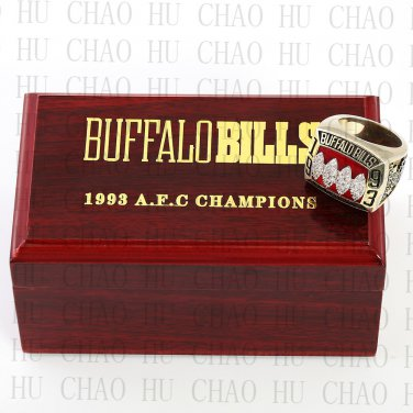 1993 Replica AFC American Football Rings Fashion Jewelry Men Fan Best Gift BJ250