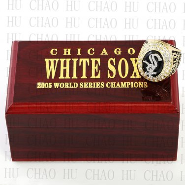 2005 Chicago White Sox World Series Championship Ring Baseball Rings With High Quality Wooden Box