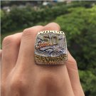 2015 2016 Denver broncos NFL super bowl champion copper ring 8 size Christmas gift