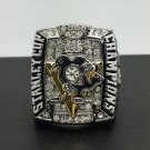 2009 Pittsburgh Penguins Stanley Cup Championship Ring NHL Hockey Ring 11 Size CROSBY Fans Gift