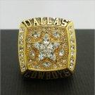 1995 Dallas Cowboys Football Super Bowl World Championship Ring 11Size 'Aikman' Fans Solid Back