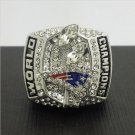 NFL 2003 New England Patriots Football Super Bowl World Championship Ring 11Size 'Kraft' Fans  Back