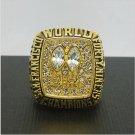 NFL 1984 San Francisco 49ers Football Super Bowl World Championship Ring 11Size 'Walsh' Fans  Back