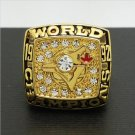Solid 1992 Toronto Blue Jays MLB World Series Championship Alloy Ring 11 Size For 'Carter' Fans Gift