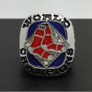 Solid 2007 Boston Red Sox MLB World Series Championship Alloy Ring 11 Size For 'Ortiz' Fans Gift