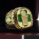 1986 Boston Celtics basketball world championship Ring 8-14S copper  back ingraved inside for BIRD