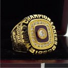 1988 Los Angeles Lakers Basketball world championship ring 14 S copper solid back ingraved inside