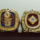 2 PCS 1989 1990 Detroit Pistons Basketball world championship ring 13 S