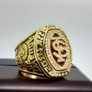 2014 Florida state in the former Soviet union Seminole ACC rose bowl championship ring size 13