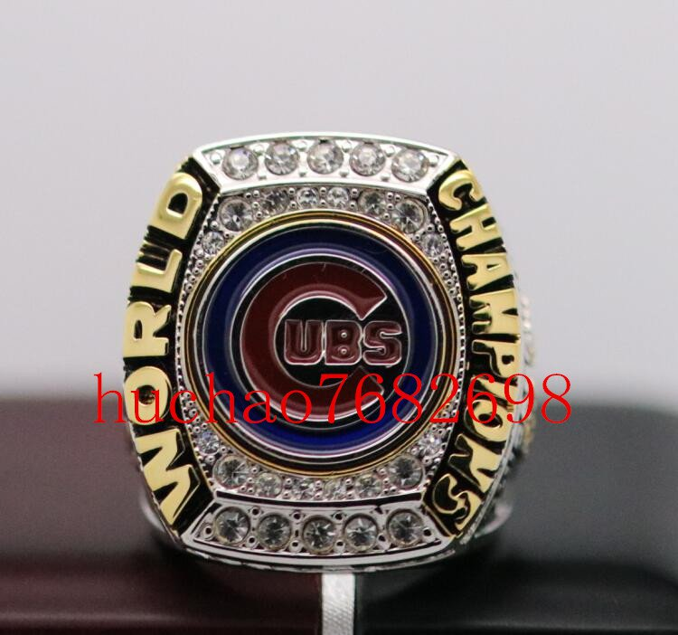 2016 Chicago Cubs World Seires Championship Ring 7 Size Copper  For MVP Kris Bryant