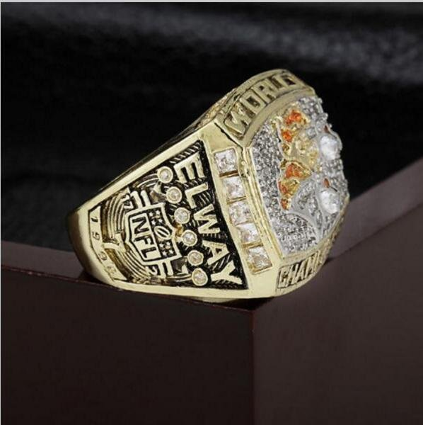 1998 Denver Broncos NFL Super Bowl FOOTBALL Championship Ring 10 size