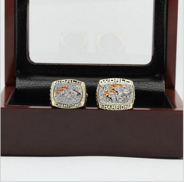 1997 1998 Denver Broncos NFL Super Bowl FOOTBALL Championship Ring 10 size
