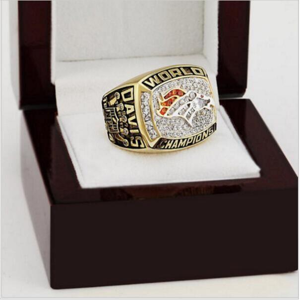 1997 Denver Broncos NFL Super Bowl FOOTBALL Championship Ring 10-13 size