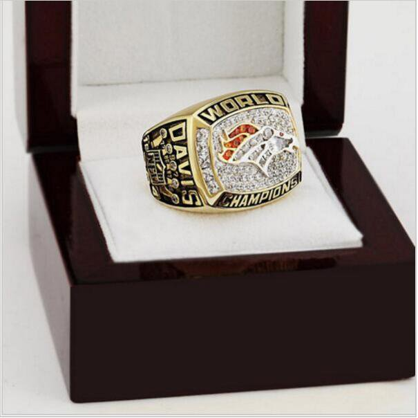 1997 Denver Broncos NFL Super Bowl FOOTBALL Championship Ring 11 size