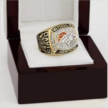 1997 Denver Broncos NFL Super Bowl FOOTBALL Championship Ring 12 size