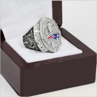 2004 New England patriots XXXIX Super Bowl Football Championship Ring Size 11