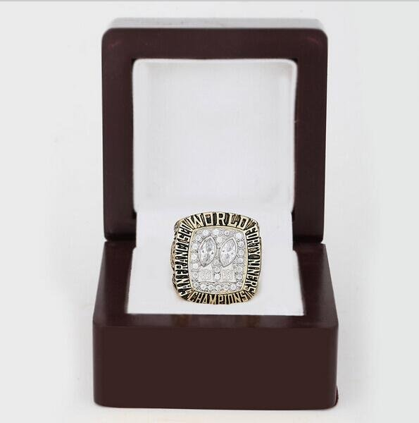 1984 NFL San Francisco 49ers XIX Super Bowl Football Championship Ring Size 13