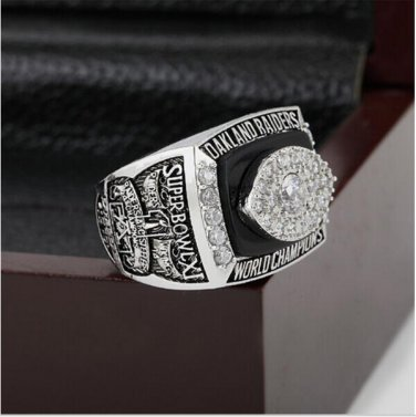 1976 Oakland Raiders XI Super Bowl Championship Ring Size 10-13 With High Quality Wooden Box