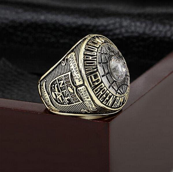 1966 Green Bay Packers Super Bowl  Championship Ring Size 10-13 With High Quality Wooden Box