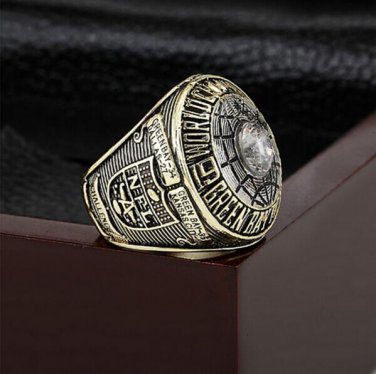 1966 Green Bay Packers Super Bowl  Championship Ring Size 11 With High Quality Wooden Box