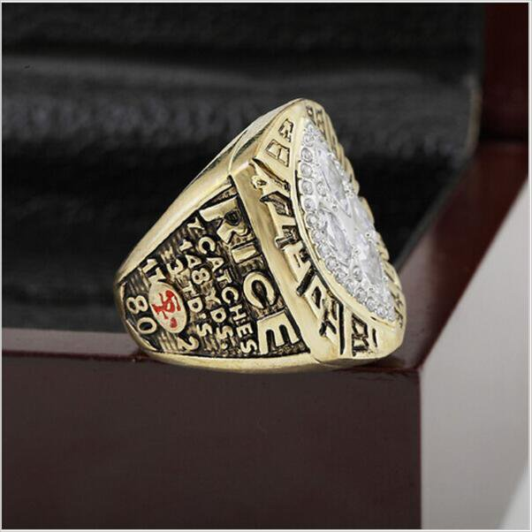 1989 San Francisco 49ers Super Bowl  Championship Ring Size 13 With High Quality Wooden Box