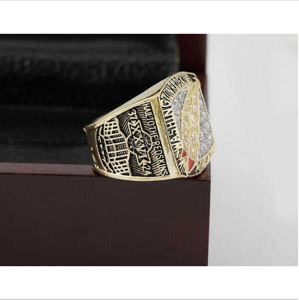 1991 Washington Redskins  Super Bowl Championship Ring Size 11 With High Quality Wooden Box