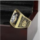 1970 BALTIMORE COLTS Super Bowl Football Championship Ring Size 10 With High Quality Wooden Box