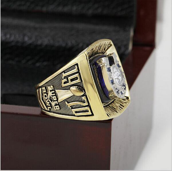 1970 BALTIMORE COLTS Super Bowl Football Championship Ring Size 13 With High Quality Wooden Box