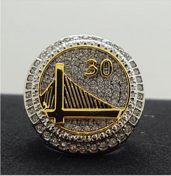 2014 to 2015, the golden state warriors basketball championship ring size 10