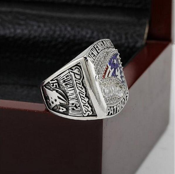 2011 New England Patriots AFC FOOTBALL Championship Ring 10-13 size