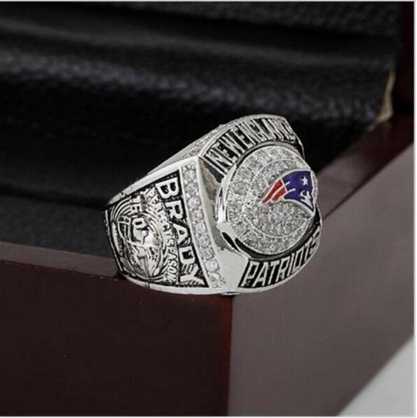 2007 New England Patriots AFC FOOTBALL Championship Ring 12 size