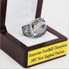 2007 New England Patriots AFC FOOTBALL Championship Ring 13 size