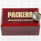 Year 1966 Green Bay Packers Super Bowl Championship Ring 12 Size  With High Quality Wooden Box