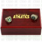 1974 1989 Oakland Athletics World Series Championship Ring With Wooden Box