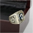 LES RAMS NFC Football Championship Ring Size 10-13 With High Quality Wooden Box Fans Best Gift