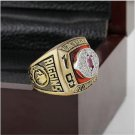 1983 Washington Redskins NFC Football Championship Ring 10-13 size with cherry wooden case