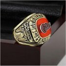 1997 NHL Detroit Red Wings Stanley Cup Championship Ring Size 12 With High Quality Wooden Box