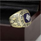 1984 EDMONTON OILERS NHL Hockey Stanely Cup Championship Ring 10 size with cherry wooden case